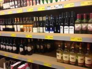 Wine at ALDI