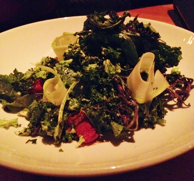 Wink and Nod kale salad