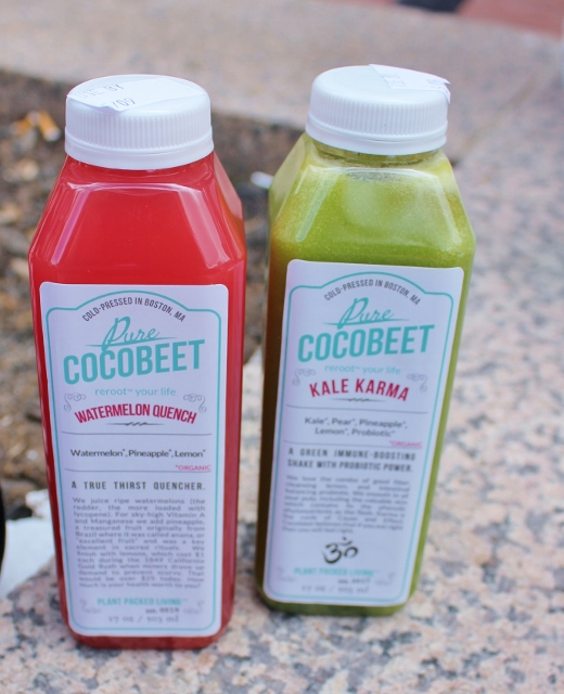 CocoBeet Juice and Smoothie