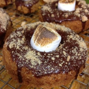 Happy National Donut Day!  S'mores Donuts