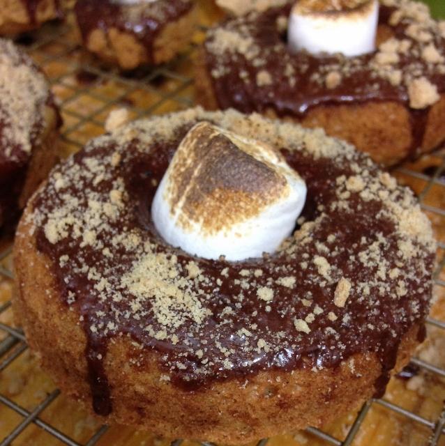 Gluten-Free S'mores Donut   In Johnna's Kitchen