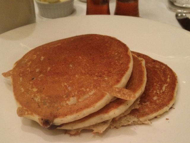Gluten-free Pancakes, Parkers Restaurant Boston