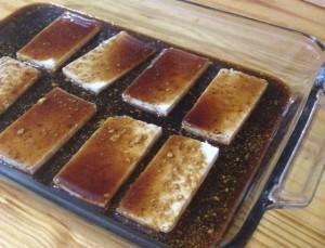 Tofu In Maple Mustard Marinade | In Johnna's Kitchen