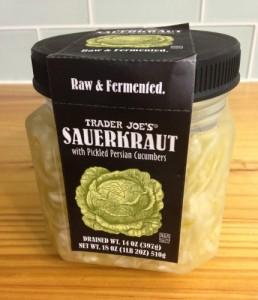 trader joes sauerkraut