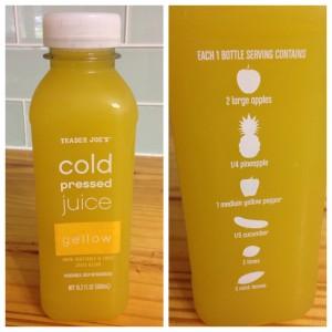 trader joes yellow juice