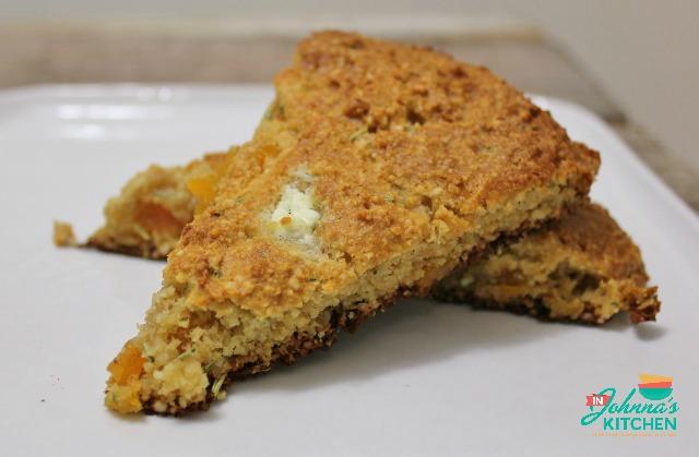 Apricot Goat Cheese Rosemary Scones (gluten-free, grain ...