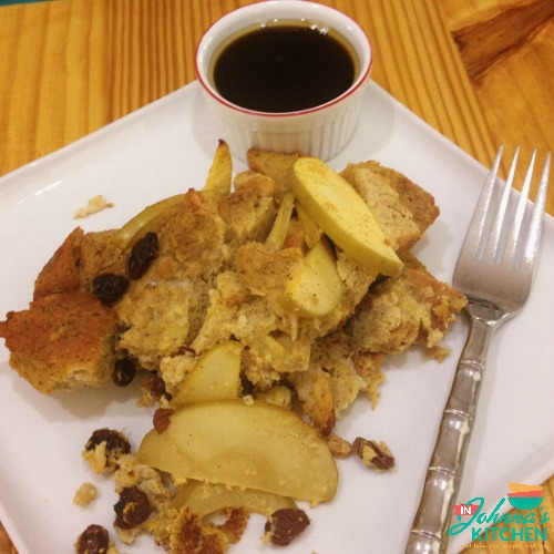 Cinnamon Raisin Apple French Toast Casserole