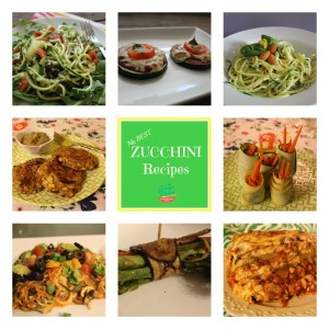 My BEST Zucchini Recipes, gluten-free and more-free!