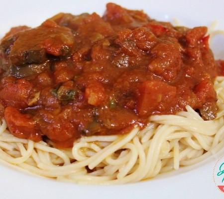 Tomato Basil Sauce | In Johnna's Kitchen