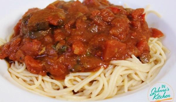 Red Wine Tomato Basil Pasta Sauce