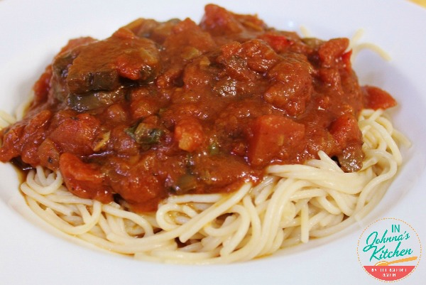 Tomato Basil Sauce | In Johnna's Kitchen