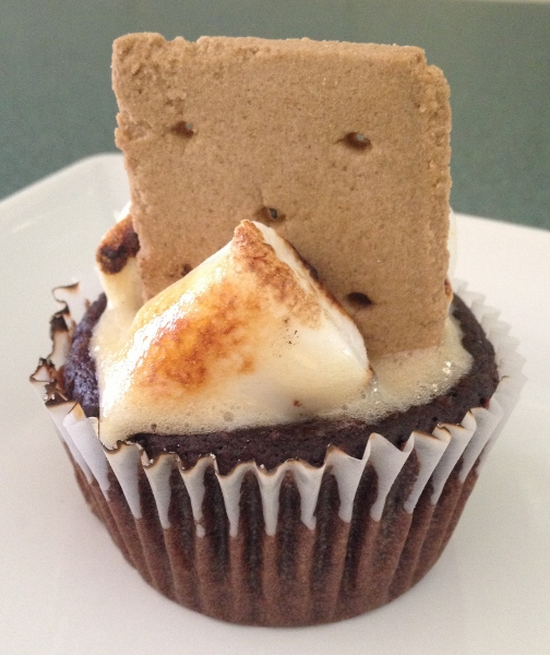 S'mores Cupcakes gluten-free