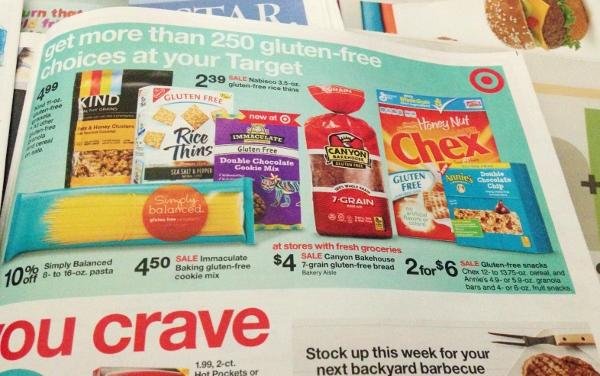 Target Ad Gluten-Free