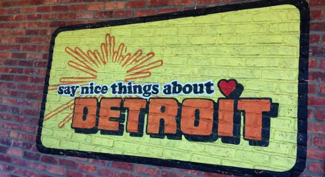 I'm in love with Detroit!