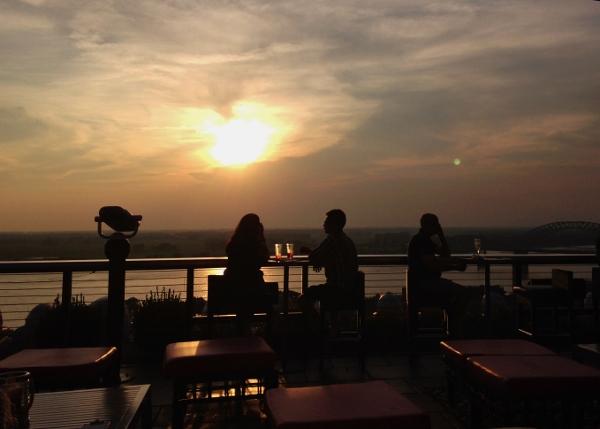 Twilight Sky Terrace | In Johnna's Kitchen