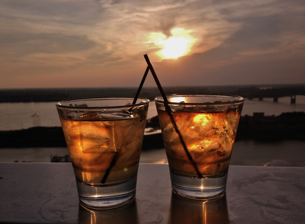 Cocktails at Twilight Sky Terrace | In Johnna's Kitchen