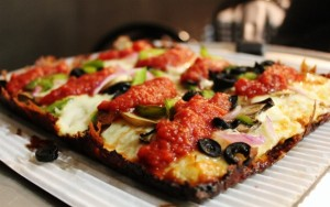 I Ate Here: Detroit Style Pizza, Detroit, MI (gluten-free)