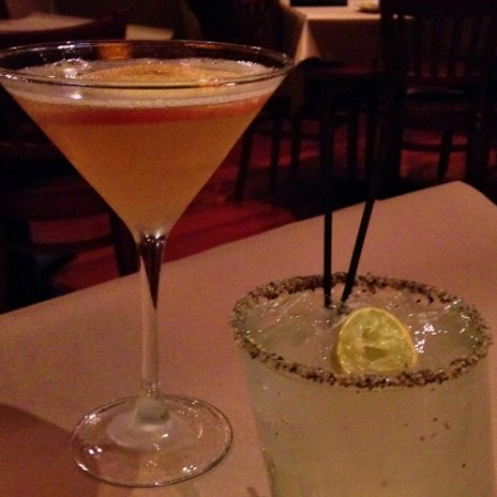 Cocktails at Bonefish Grill