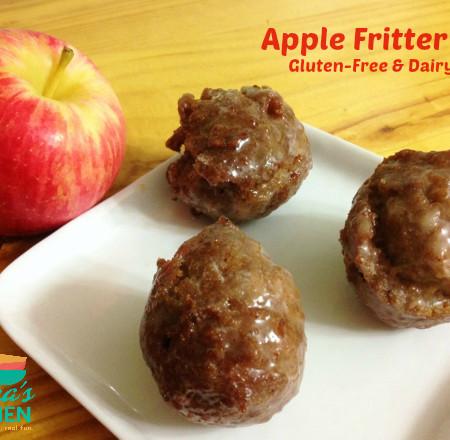 Apple Fritter Bites, gluten-fre & dairy-free