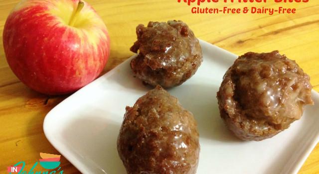 Apple Fritter Bites, gluten-free & dairy-free
