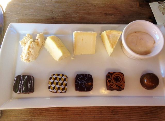 Cheese and Chocolate Tasting at Green Dirt Farm