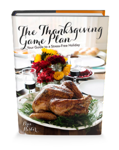 The Thanksgiving Game Plan by Bree Hester