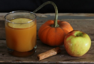 Bourbon Apple Pumpkin Cocktail