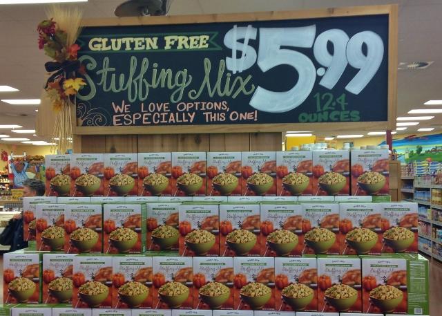 Gluten-Free Stuffing Mix at Trader Joe's