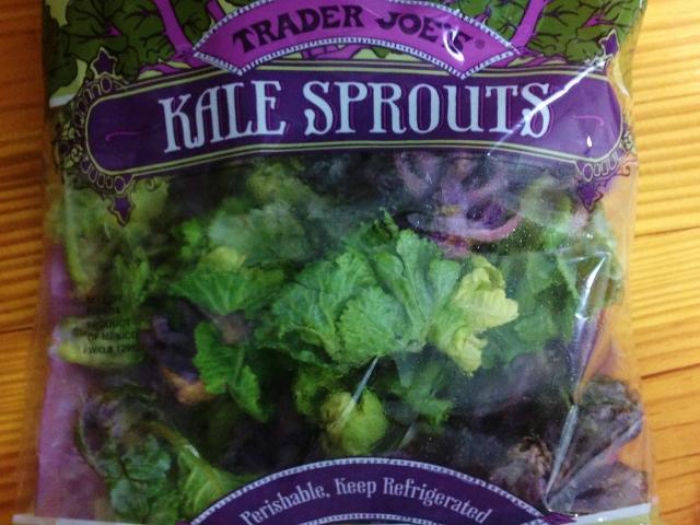 Trader Joe's Kale Sprouts