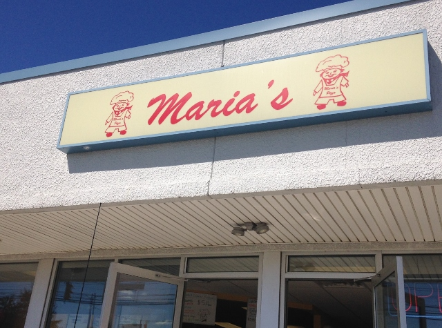 Maria's Pizza, Erie, PA gluten-free