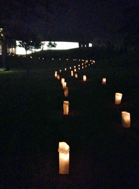 Luminary Walk Nelson-Atkins