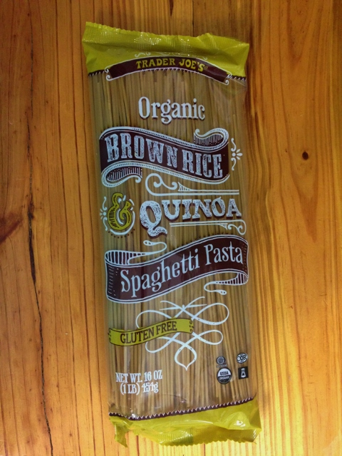 Trader Joe's Organic Brown Rice Quinoa Spaghetti