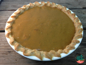 Pumpkin Pie Filling for Everyone! (Dairy-free, Vegan)