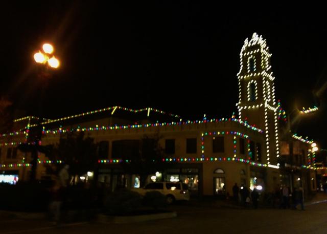Christmas Lights on the Plaza