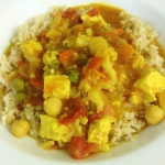 Weeknight Tofu Curry, gluten-free, dairy-free and vegan