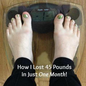 Soften Saturday: How I Lost 45 Pounds in Just One Month!