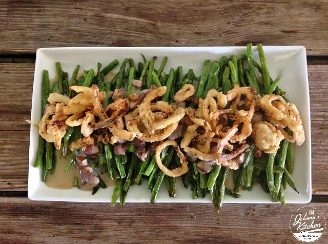 Green Bean Casserole, gluten-free, dairy-free and vegan | In Johnna's ...