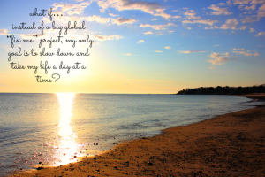 Soften Saturday: Daily Intention
