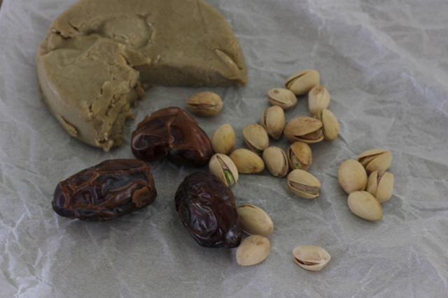 Pistachios, Dates and Aged Cheese | In Johnna's Kitchen