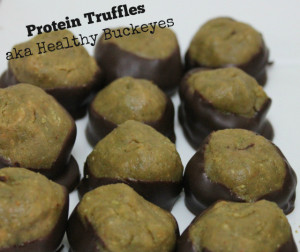 Protein Truffles | In Johnna's Kitchen
