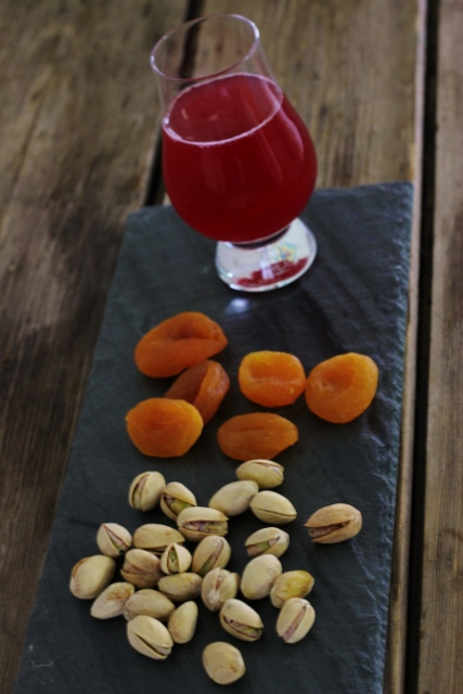 Pistachios, Dried Apricots and Kombucha | In Johnna's Kitchen