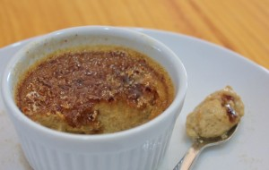 Crème Brûlée, Lightened Up and Dairy Free!
