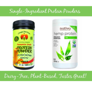 Johnna's favorite protein powders