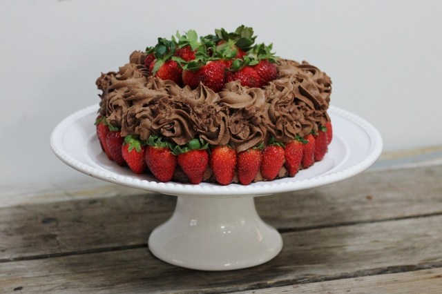 Ultimate Chocolate Birthday Cake Gluten Free Dairy Egg