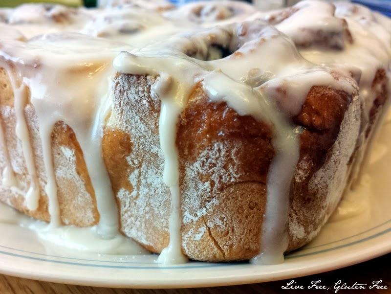 Gluten-Free Cinnamon Rolls | Live Free, Gluten Free