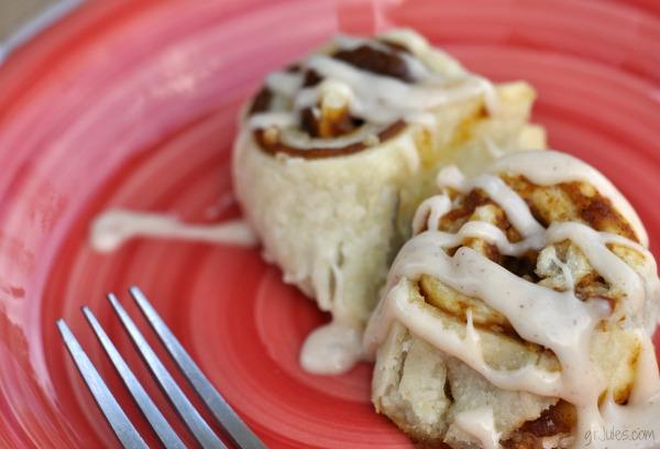 Gluten-Free Pumpkin Pie Cinnamon Rolls | GF Jules