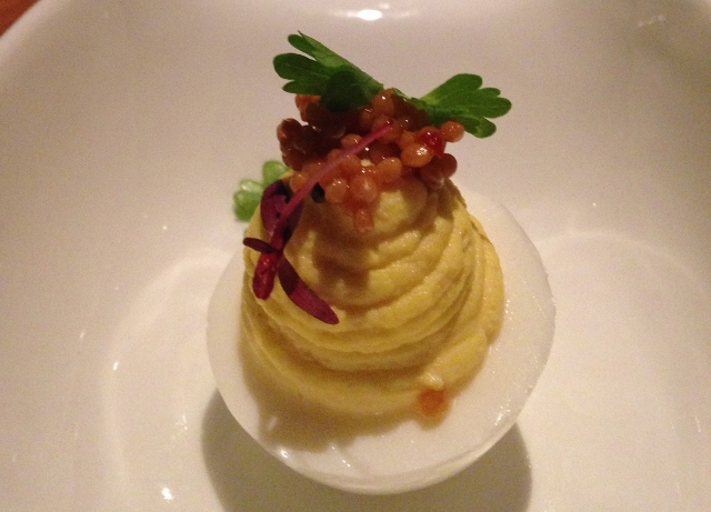 Deviled Egg, Mason's at Loews Vanderbilt