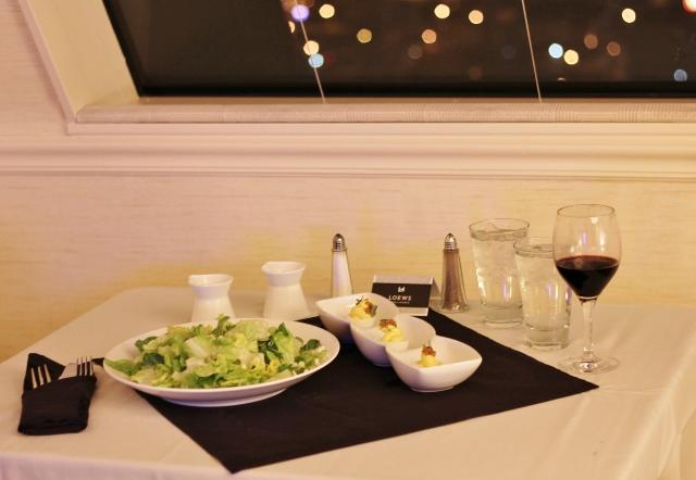 Room Service, Loews Vanderbilt, Nashville