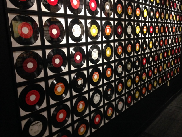Wall of 45s, Johnny Cash Museum