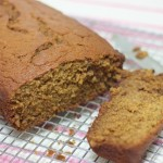 Blue Heaven Banana Bread, gluten-free | In Johnna's Kitchen